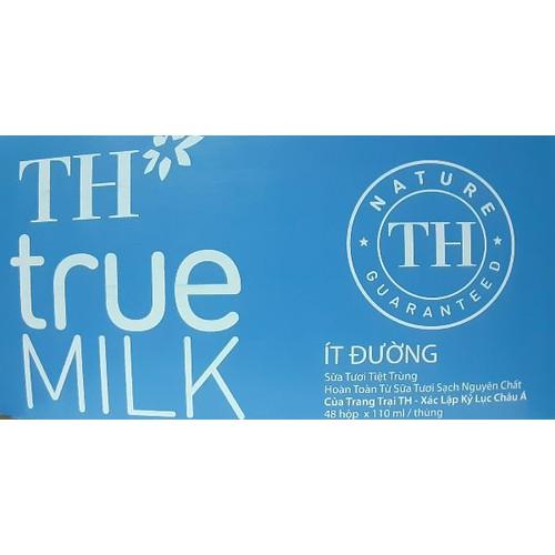 Sữa TH True Milk hộp 180 ml