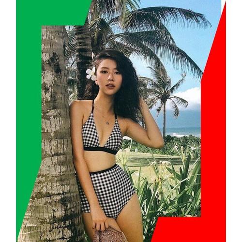 Bikini đẹp _ Bikini 2 mảnh cạp cao dây buộc các mẫu kẻ caro, chấm bi, kẻ sọc ngang - 11610543 , 17822170 , 15_17822170 , 598000 , Bikini-dep-_-Bikini-2-manh-cap-cao-day-buoc-cac-mau-ke-caro-cham-bi-ke-soc-ngang-15_17822170 , sendo.vn , Bikini đẹp _ Bikini 2 mảnh cạp cao dây buộc các mẫu kẻ caro, chấm bi, kẻ sọc ngang