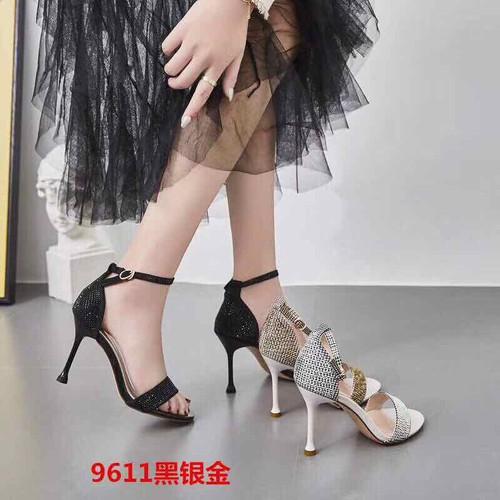 Giày cao gót nhọn hở mũi