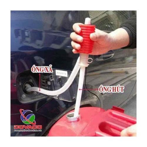 Ống hút xăng dầu, Rượu, Nước bóp tay tiện dụng