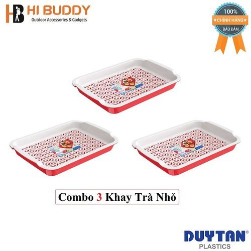 Combo 3 Khay trà nhỏ Duy Tân 29 x 21.5 x 4.2 cm No.864