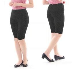 QUẦN LEGGIN LỬNG chất liệu COTTON LỤA co giãn 4 chiều không túi cực mềm và mát có size đến 75kg