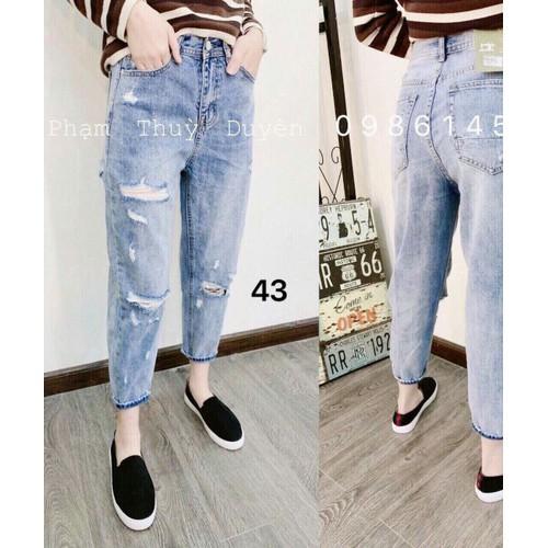 Baggy jean nữ ms43