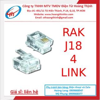 Jack mạng j18 4link - 100 CON - J184LINK thumbnail
