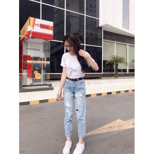 Baggy jean nữ ms34