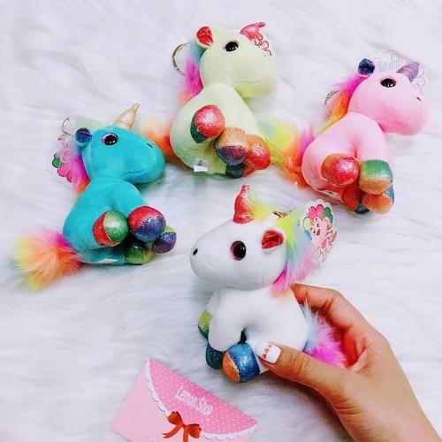 Móc Khóa Bông Unicorn - 1sp - 8334264 , 17812447 , 15_17812447 , 95000 , Moc-Khoa-Bong-Unicorn-1sp-15_17812447 , sendo.vn , Móc Khóa Bông Unicorn - 1sp