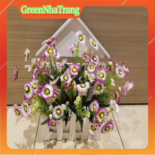 Chậu Hoa Giả Trang Trí Đẹp