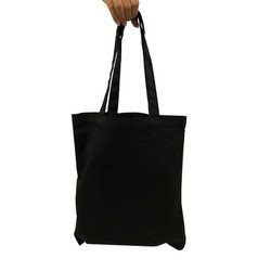 Túi vải bố trơn đen