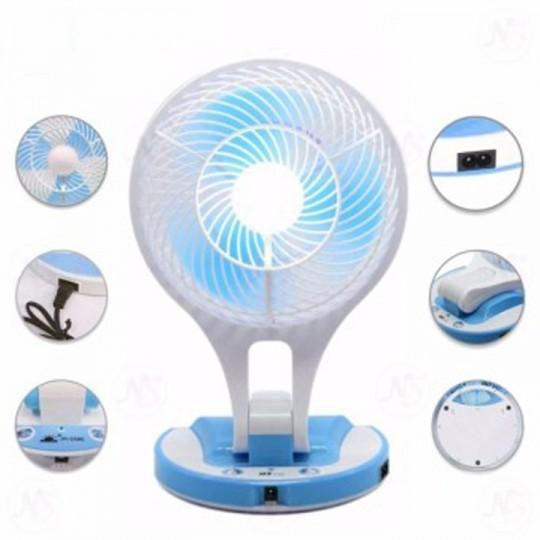 Quạt sạc điện kiêm đèn pin Mini Fan M-5580 3