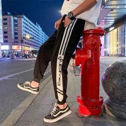 Quần jogger nam nữ mặc