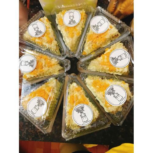 Set 20 hộp tam giác đựng bánh