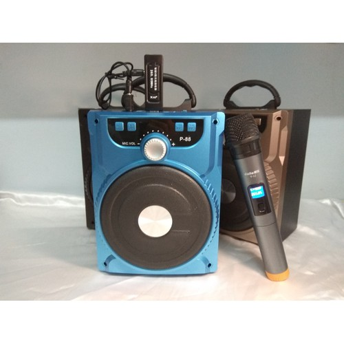 Loa Karaoke Bluetooth với thiết kế nhỏ gọn âm thanh hay + 1 Mic không dây - 4746431 , 17831445 , 15_17831445 , 661000 , Loa-Karaoke-Bluetooth-voi-thiet-ke-nho-gon-am-thanh-hay-1-Mic-khong-day-15_17831445 , sendo.vn , Loa Karaoke Bluetooth với thiết kế nhỏ gọn âm thanh hay + 1 Mic không dây