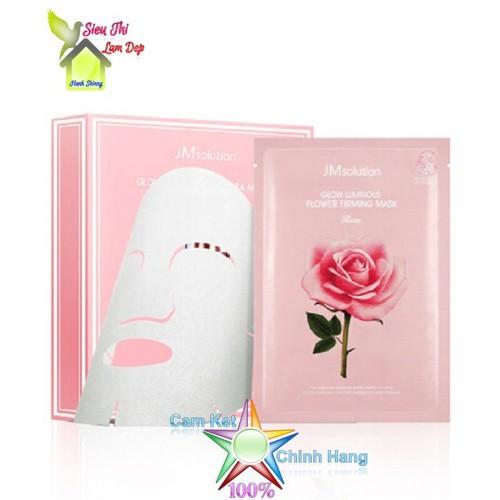 Hộp 10 Mặt nạ giấy hoa hồng dưỡng da, làm săn chắc da JM Solution Glow Luminous Flower Firming Mask - 9009722 , 18665990 , 15_18665990 , 300000 , Hop-10-Mat-na-giay-hoa-hong-duong-da-lam-san-chac-da-JM-Solution-Glow-Luminous-Flower-Firming-Mask-15_18665990 , sendo.vn , Hộp 10 Mặt nạ giấy hoa hồng dưỡng da, làm săn chắc da JM Solution Glow Luminous Fl