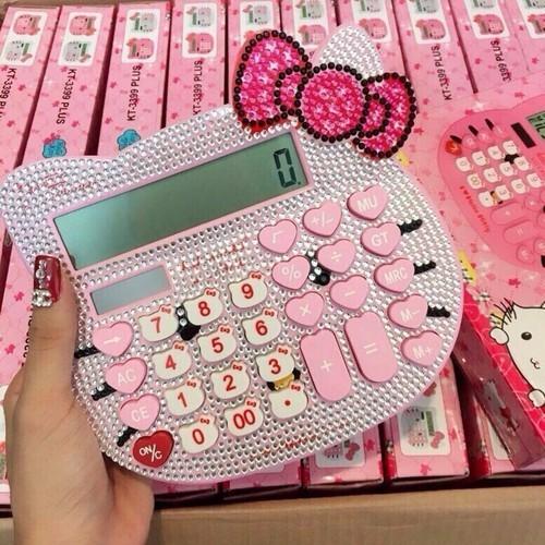 Máy tính bánh bèo hello kitty đính đá - 9011970 , 18669150 , 15_18669150 , 200000 , May-tinh-banh-beo-hello-kitty-dinh-da-15_18669150 , sendo.vn , Máy tính bánh bèo hello kitty đính đá