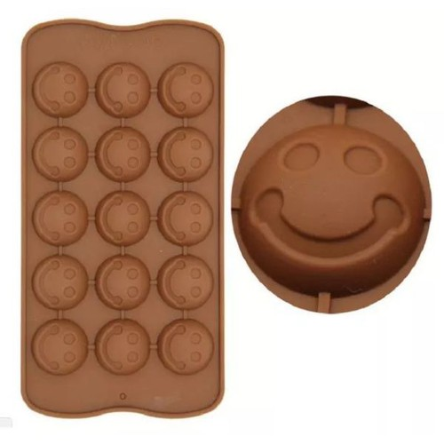 khuôn silicon mặt cười