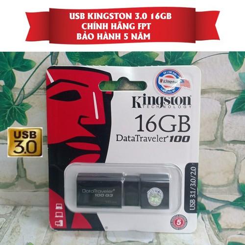 USB 16GB 3.0 King ston DataTraveler