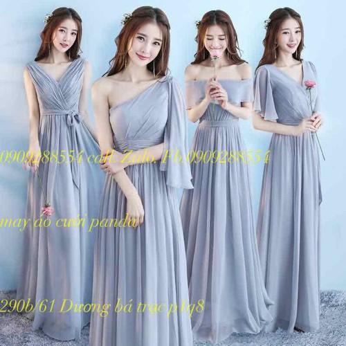 áo phụ dâu áo dài bê tráp bưnh quả hàng co sẵn mẫu đep