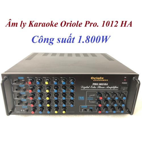 Amply karaok Oriole Pro 1012HA 12 sò, 1800W