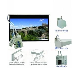 Màn chiếu tự động dùng remote 1m5 [ĐƯỢC KIỂM HÀNG] 16034793 - 16034793 thumbnail