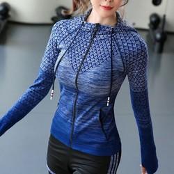 Áo khoác thể thao nữ có TÚI _ Mẫu mới năm 2019