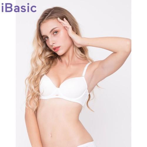Áo ngực demi trơn nâng iBasic BRAY029 - Nhiều màu