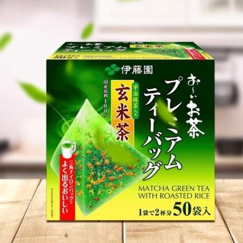 Trà xanh gạo lứt Nhật Bản Itoen - Hộp 50 túi lọc - 9011565 , 18668487 , 15_18668487 , 395000 , Tra-xanh-gao-lut-Nhat-Ban-Itoen-Hop-50-tui-loc-15_18668487 , sendo.vn , Trà xanh gạo lứt Nhật Bản Itoen - Hộp 50 túi lọc