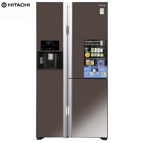 Tủ Lạnh R-M700GPGV2X MBW HITACHI Inverter 584 Lít