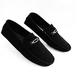 Giày lười giày mọi vải nam