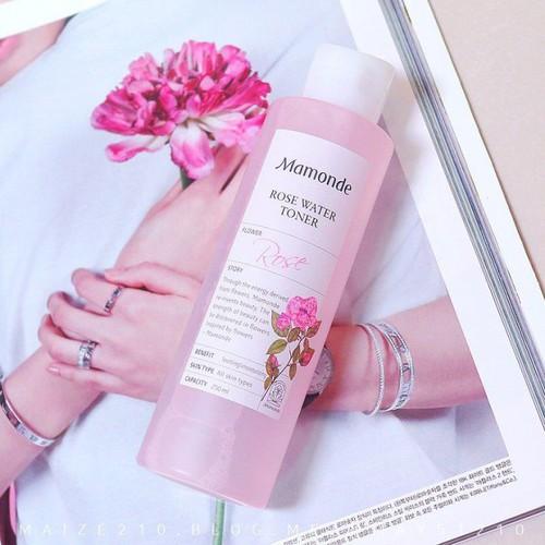 Nước hoa hồng Mamonde mẫu mới nhất 250 ml