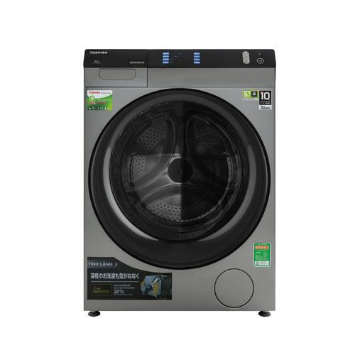 Máy giặt sấy Toshiba Inverter 8 Kg TWD-BH90W4V SKMẫu 2019