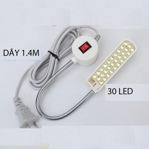 Đèn LED 30 bóng đế nam châm cho máy may