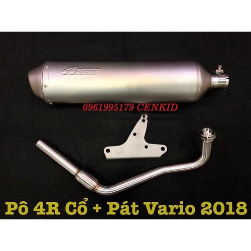 Pô 4road Pháp zin 1:1 luôn cổ pát gắn VARIO,AB,PCX,SH - 7773540 , 18658949 , 15_18658949 , 4000000 , Po-4road-Phap-zin-11-luon-co-pat-gan-VARIOABPCXSH-15_18658949 , sendo.vn , Pô 4road Pháp zin 1:1 luôn cổ pát gắn VARIO,AB,PCX,SH