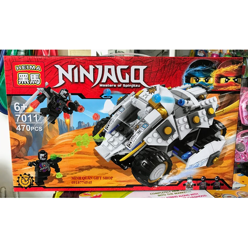 Xếp hình Ninjago 7011 - 470pcs