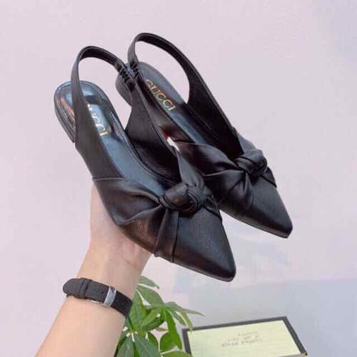 Giày búp bê nữ quai hậu quai xoắn