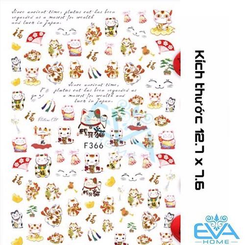 Miếng Dán Móng Tay 3d Nail Sticker Hình Mèo Thần Tài F366 - 9016187 , 18674859 , 15_18674859 , 33000 , Mieng-Dan-Mong-Tay-3d-Nail-Sticker-Hinh-Meo-Than-Tai-F366-15_18674859 , sendo.vn , Miếng Dán Móng Tay 3d Nail Sticker Hình Mèo Thần Tài F366