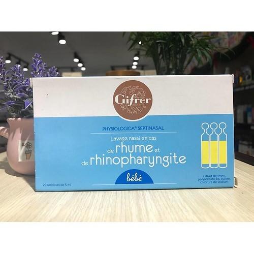 1 hộp nước muối Gifrer sinh lý kháng viêm của Pháp tép màu vàng - 9010974 , 18667619 , 15_18667619 , 150000 , 1-hop-nuoc-muoi-Gifrer-sinh-ly-khang-viem-cua-Phap-tep-mau-vang-15_18667619 , sendo.vn , 1 hộp nước muối Gifrer sinh lý kháng viêm của Pháp tép màu vàng