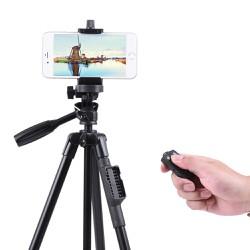 Chân tripod cho máy ảnh, điện thoại chụp hình