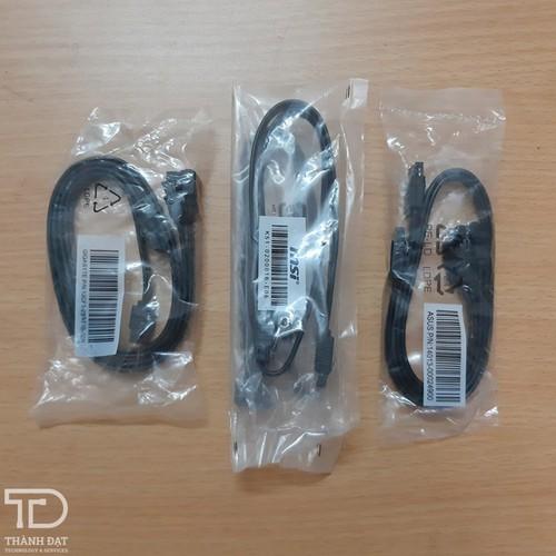 Combo 10 sợi dây cáp Sata 3 tốc độ 6Gb hàng chuẩn bóc máy - Cáp HDD Sata 3
