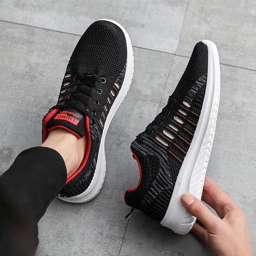 Giày sneaker vải nam đế trắng - lỗ thoáng khí, đi chơi, đi thể thao, dã ngoại - G104