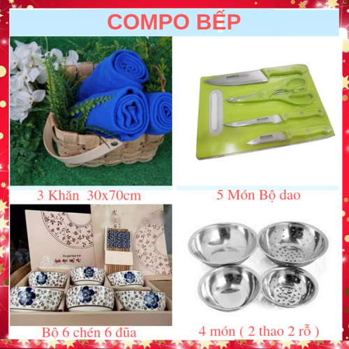 [COMBO] đồ dùng bếp đủ bộ Khăn lau bộ dao thớt 5 món  bộ thau rỗ inox  bộ 6 chén 6 đũa - 9010522 , 18667123 , 15_18667123 , 400000 , COMBO-do-dung-bep-du-bo-Khan-lau-bo-dao-thot-5-mon-bo-thau-ro-inox-bo-6-chen-6-dua-15_18667123 , sendo.vn , [COMBO] đồ dùng bếp đủ bộ Khăn lau bộ dao thớt 5 món  bộ thau rỗ inox  bộ 6 chén 6 đũa