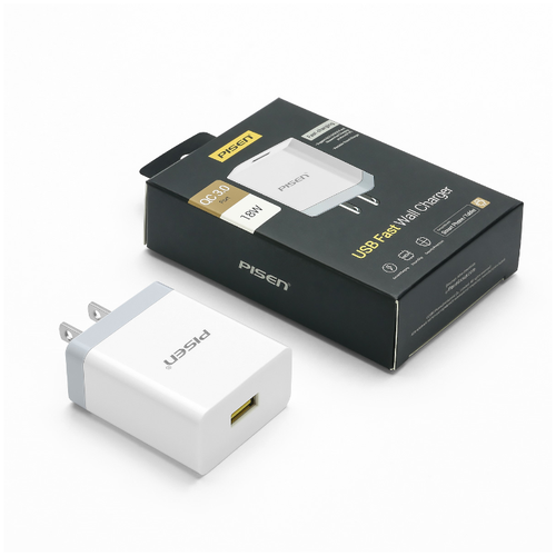 Củ sạc USB Fast Wall Charger - 1 cổng USB QC3.0 18W