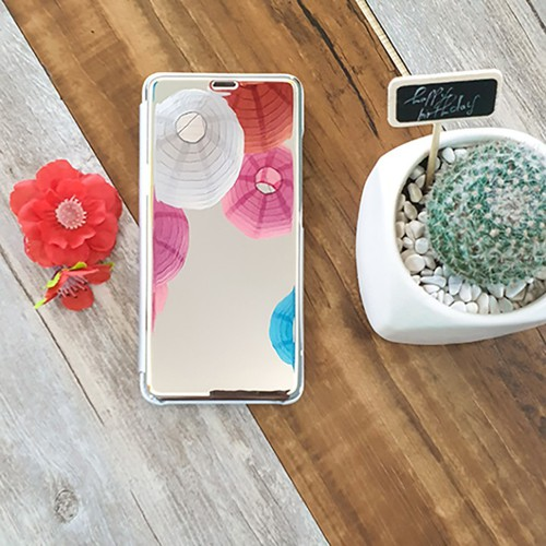 Ốp điện thoại Clearview cho dòng máy Huawei Nova 2i, Tặng tai nghe móc tai
