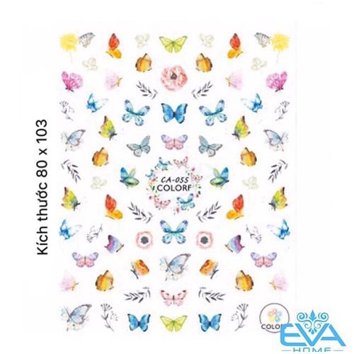 Miếng Dán Móng Tay 3D Nail Sticker Tráng Trí Hoạ Tiết Bướm Butterfly CA055 - 9014222 , 18672336 , 15_18672336 , 33000 , Mieng-Dan-Mong-Tay-3D-Nail-Sticker-Trang-Tri-Hoa-Tiet-Buom-Butterfly-CA055-15_18672336 , sendo.vn , Miếng Dán Móng Tay 3D Nail Sticker Tráng Trí Hoạ Tiết Bướm Butterfly CA055