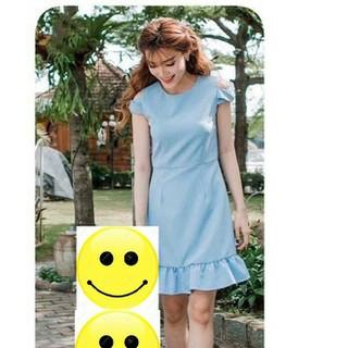 Set đầm Mẹ & Bé váy bèo áo hở vai VMB22 - VMB22 2