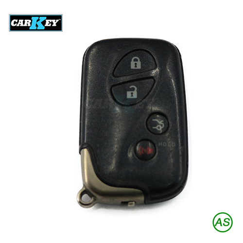 Vỏ chìa khóa Lexus Smart Key Shell 4 Button - Vỏ chìa khóa ô tô Lexus Smart Key Shell 4 Button - LEX24 6B4