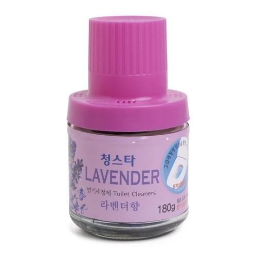 Cốc thả bồn cầu diệt khuẩn,khử mùi toilet Hàn Quốc 180gr Hương LAVENDER