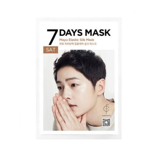 Mặt nạ Forencos Tinh Chất Mỡ Ngựa 25ml  7 Days Mask Song Joong Ki Sat Mayu Elastic Silk Mask