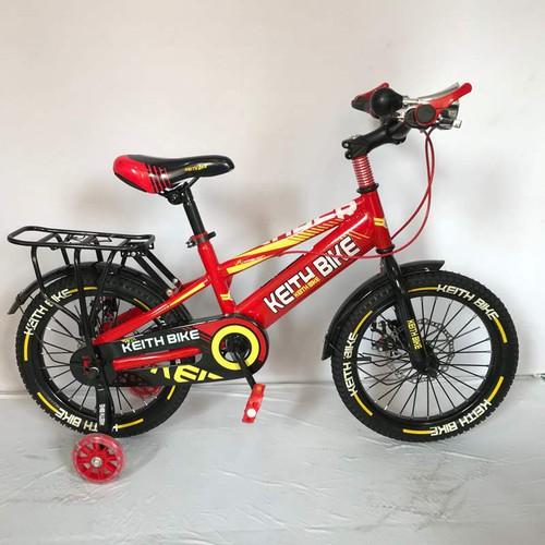 Xe đạp trẻ em Keith Bike, 16 inch, nam, mau đỏ, có baga - 9024806 , 18686823 , 15_18686823 , 1250000 , Xe-dap-tre-em-Keith-Bike-16-inch-nam-mau-do-co-baga-15_18686823 , sendo.vn , Xe đạp trẻ em Keith Bike, 16 inch, nam, mau đỏ, có baga
