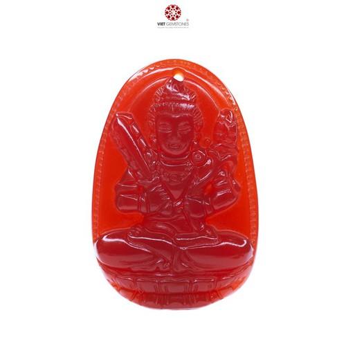 Mặt dây chuyền Hư Không Tạng Bồ Tát mã não đỏ tự nhiên - Phật bản mệnh cho tuổi Sửu, Dần VietGemstones - 9018376 , 18677714 , 15_18677714 , 300000 , Mat-day-chuyen-Hu-Khong-Tang-Bo-Tat-ma-nao-do-tu-nhien-Phat-ban-menh-cho-tuoi-Suu-Dan-VietGemstones-15_18677714 , sendo.vn , Mặt dây chuyền Hư Không Tạng Bồ Tát mã não đỏ tự nhiên - Phật bản mệnh cho tuổi S