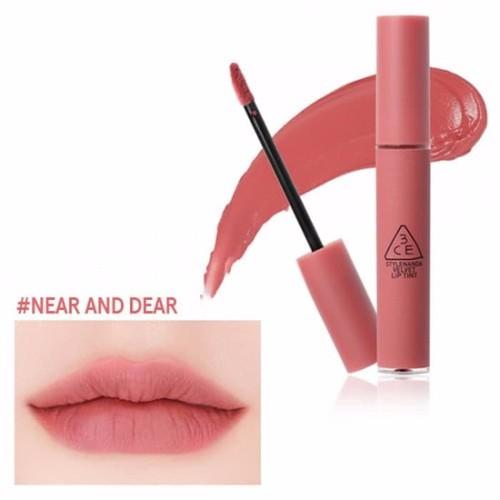 Son kem lì 3CE Velvet Lip Tint CAM KẾT AUTH